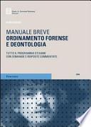 Ordinamento forense e deontologia