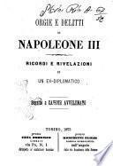 Orgie e delitti di Napoleone 3 ricordi e rivelazioni di un ex-diplomatico