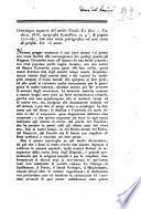 Orittologia euganea del nobile Nicolo Da Rio [recensione] [L. Pasini]