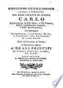 Oroscopo genealogico sacro e perpetuo del real infante di Spagna Carlo