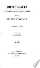 Ortografia enciclopedica universale della lingua italiana