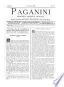 Paganini periodico artistico-musicale