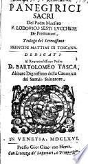Panegirici sacri