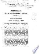 Parallelo fra i tre vulcani ardenti dell'Italia