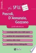 Pascoli, D'Annunzio, Gozzano