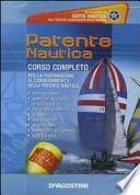 Patente nautica. CD-ROM. Con carta nautica