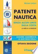 Patente nautica senza alcun limite dalla costa