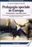 Pedagogia speciale in Europa