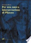 Per una nuova interpretazione di Platone