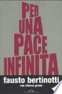 Per una pace infinita