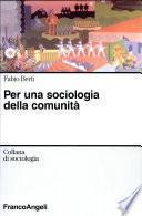 Per una sociologia della comunità