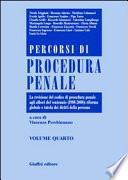 Percorsi di procedura penale