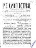 Pier Candido Decembrio giornale settimanale popolare di istruzione, educazione e varietà