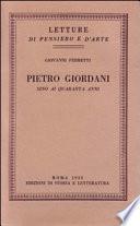 Pietro Giordani sino ai quaranta anni
