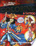 Pirati dei Caraibi. Coloring & tattoo
