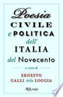 Poesia civile e politica dell'Italia del Novecento