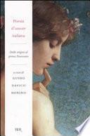 Poesia d'amore italiana
