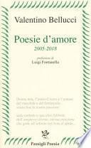 Poesie d'amore 2005-2018