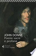 Poesie sacre e profane. Testo originale a fronte