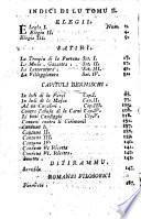Poesie siciliane dell'abate Giovanni Meli pubblico professore di chimica nella Reg. Accademia degli Studi di Palermo... Tomo 1. -5