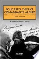 Policarpo Chierici, comandante alpino