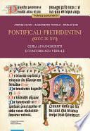 Pontificali pretridentini (secc. IX–XVI). Guida ai manoscritti e concordanza verbale