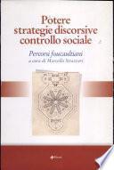 Potere, strategie discorsive, controllo sociale