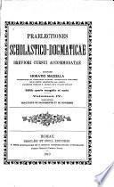 Praelectiones scholastico