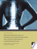 Prevenzione del mal di schiena di origine meccanica con attività motoria e comportamentale