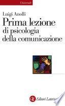 Prima lezione di psicologia della comunicazione