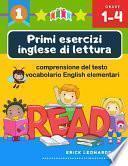 Primi esercizi inglese di lettura