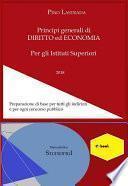 Principi generali di DIRITTO ed ECONOMIA