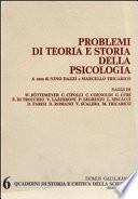 Problemi di teoria e storia della psicologia