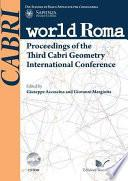 Proceedings of the Third Cabri Geometry International Conference