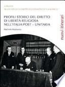 Profili storici del diritto di libertà religiosa nell'Italia post-unitaria