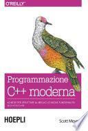 Programmazione C++ moderna