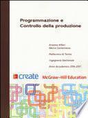 Programmazione e controllo della produzione