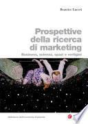 Prospettive della ricerca di marketing