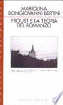 Proust e la teoria del romanzo