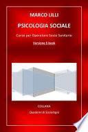 Psicologia sociale. Corso per operatore socio sanitario