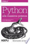 Python alla massima potenza