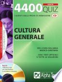 Quattromilaquattrocento quiz di cultura generale. Con CD-ROM