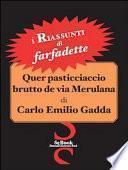 Quer pasticciaccio brutto de via Merulana di Carlo Emilio Gadda - Riassunto