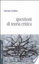 Questioni di teoria critica