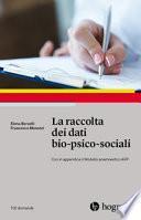 Raccolta dei dati bio-psico-sociali