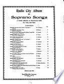 Radio City Album of Soprano Songs