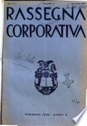 Rassegna corporativa rivista bimestrale di diritto ed economia