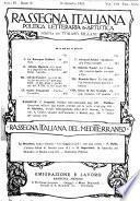 Rassegna italiana di politica e di cultura