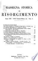 Rassegna storica del Risorgimento