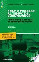 Reati e processi al tempo del coronavirus